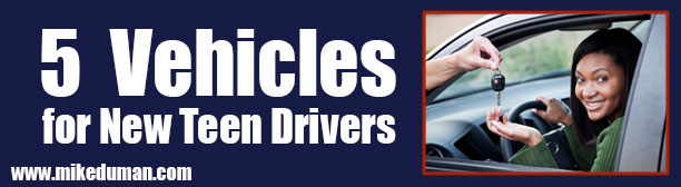 5 Vehicles for New Teen Drivers