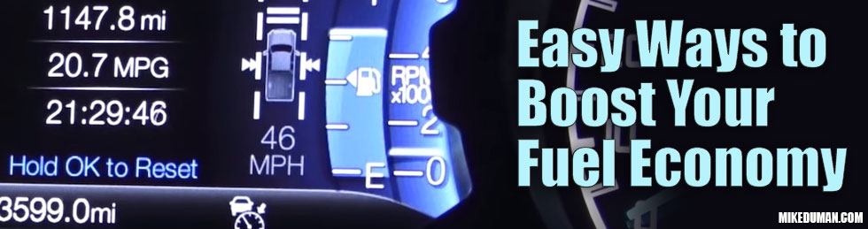 How To Boost Your Fuel Economy