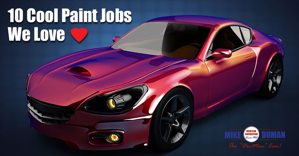 10 cool car paint jobs we love mike duman