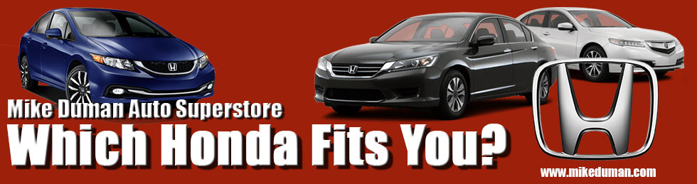Which Honda Fits You?