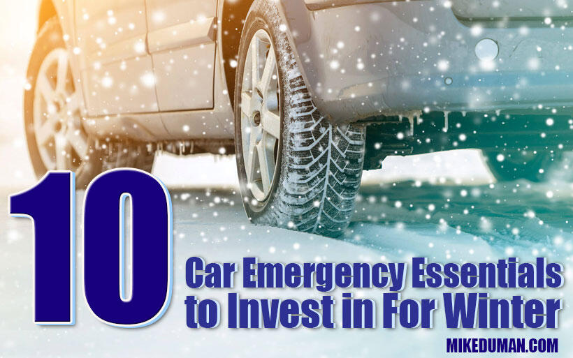 Car emergency essentials to include in your winter kit