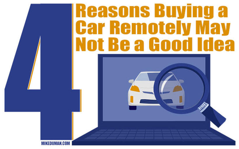 4 Reasons Online Car Shopping Is Not The Way To Go